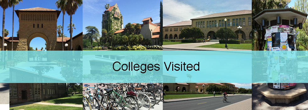 Colleges Visited