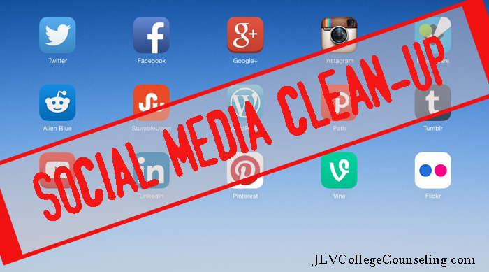 how to clean up youth social media