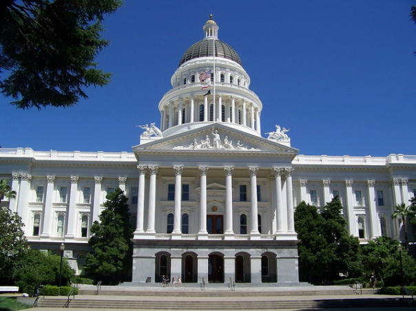 Sacramento California Capitol by Justin Brockie licensed by CC BY 2.0