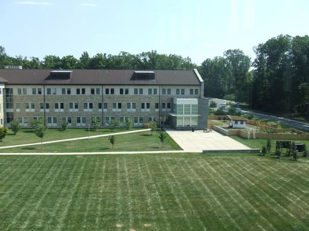 Goucher College Athenaeum and Library by UNM Research Data Services licensed by CC BY-SA 2.0