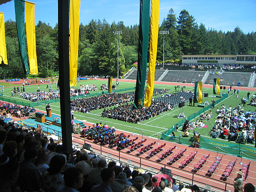Humboldt State Graduation by Ajay Tallam licensed under CC BY-SA 2.0