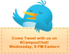 Twitter Chat #CampusChat | Wednesdays at 6 p.m. PT