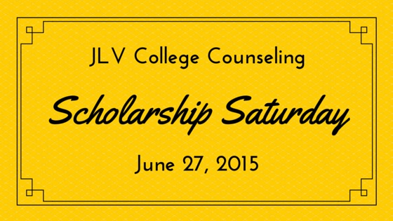 JLV College Counseling Blog | Scholarship Saturday - 23 college scholarships and contests with upcoming deadlines.