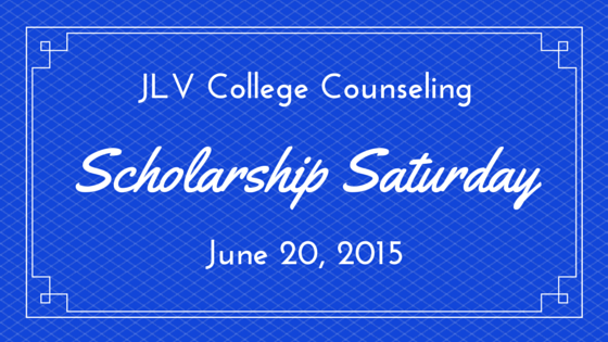 JLV College Counseling Blog | Scholarship Saturday - 19 college scholarships and contests with upcoming deadlines.