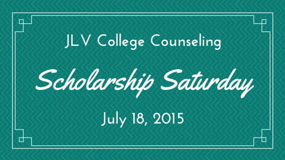 Scholarship Saturday - 16 college scholarships and contests with upcoming deadlines. | JLV College Counseling Blog