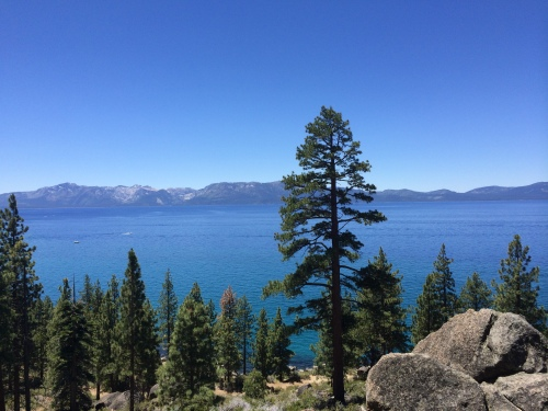 Lake Tahoe is just a few blocks from Sierra Nevada College.