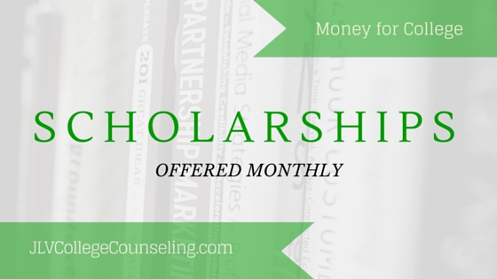 18 Scholarships Accepting Applications Every Month | JLV College Counseling Blog