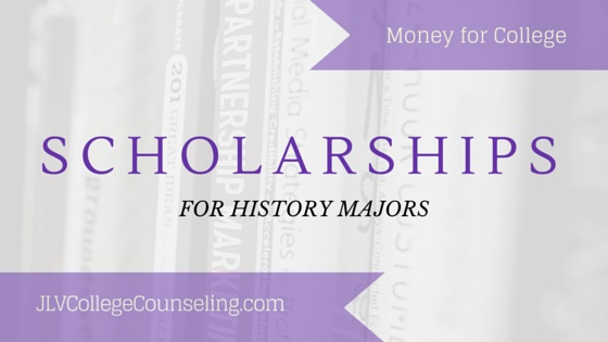 20 scholarships for History majors