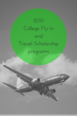 2015 College Fly-In and Travel Scholarship Programs for College Visits | JLV College Counseling Blog