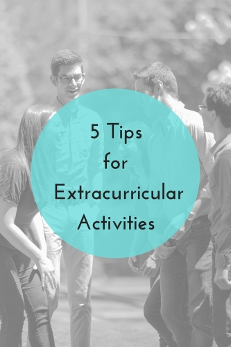 5 Tips for Extracurricular Activities | JLV College Counseling Blog