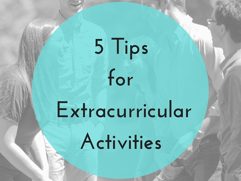 Extracurriculars for college?