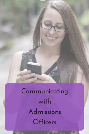 Tips for communicating with admissions officers | JLV College Counseling Blog