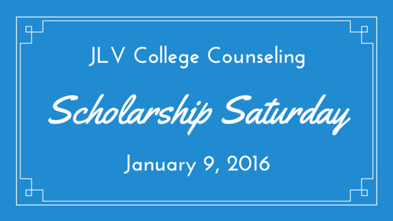 Scholarship Saturday - January 9, 2016 | 29 #College #Scholarships and #Contests with upcoming deadlines | JLV College Counseling Blog
