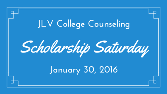 Scholarship Saturday - January 30, 2016 | 28 #College #Scholarships and #Contests with upcoming deadlines | JLV College Counseling Blog