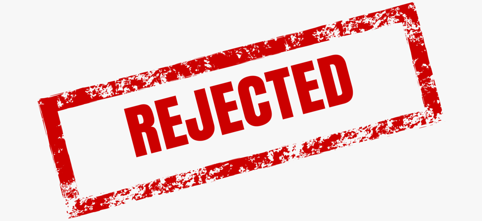 reply to rejection letter