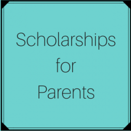 Scholarships for parents attending college