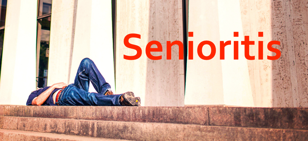 senioritis high school and college Don't let senioritis ruin your last year in high school now, more than ever,  it  can be a difficult transition from high school to college however, you can make.