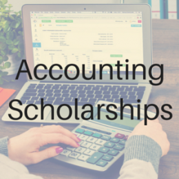 Scholarships for students studying Accounting or Finance.