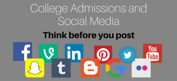 College Admissions and Social Media - Think Before You Post | JLV College Counseling Blog