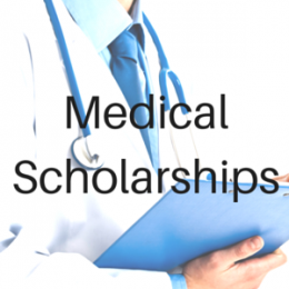 Scholarships for students studying to work in the Medical or Dental industries.