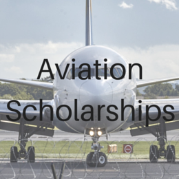 Scholarships for students studying Aviation.