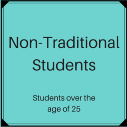 Scholarships for Non-Traditional Students (students over the age of 25)