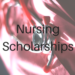 Scholarships for students studying Nursing.