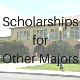 Scholarships for students studying other fields that do not fall into the other categories.