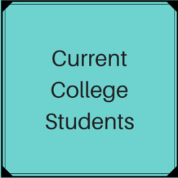 Scholarships for Current Undergraduate College Students