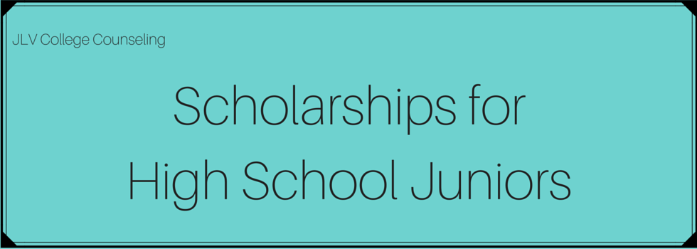 Essay Scholarships For High School Juniors
