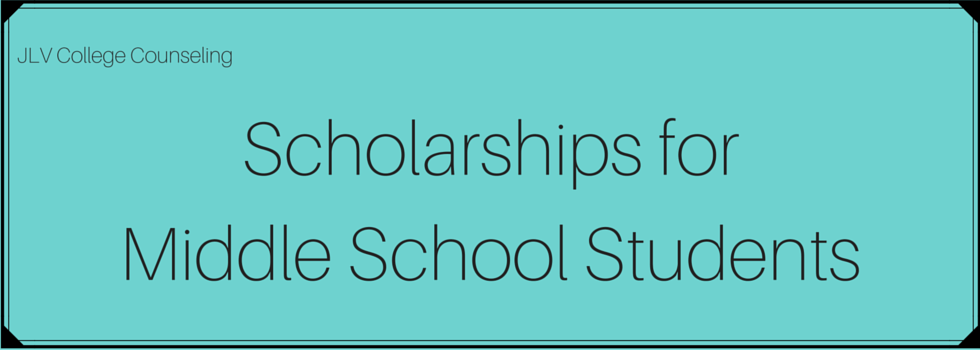Middle School Scholarships 2019