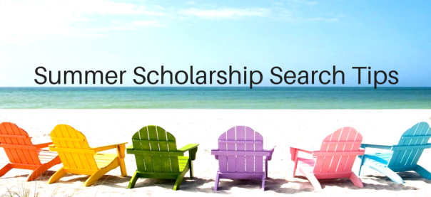 Summer Scholarship Search Tips | JLV College Counseling Blog