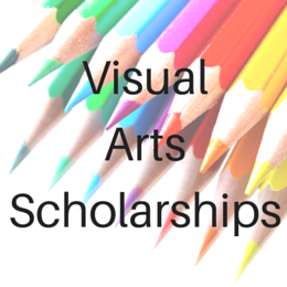 Scholarships for students studying in the Visual Arts including Art, Design, Architecture, Graphic Design, and other related fields.