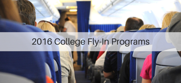 2016 College Fly-In Programs | JLV College Counseling Blog