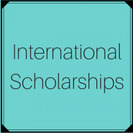 Scholarships open to international students