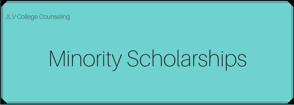 Scholarships open to minority students