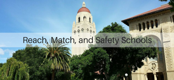 Reach, Match, and Safety Schools | JLV College Counseling Blog