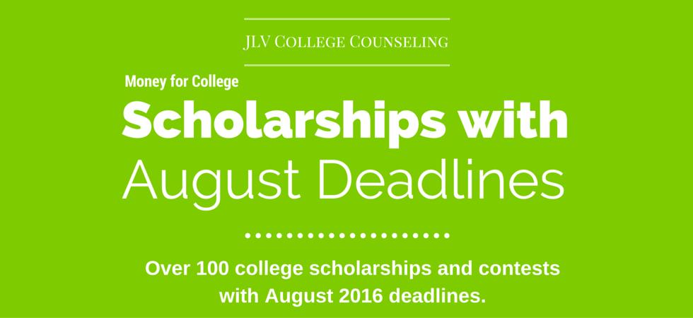 college essay scholarships 2016
