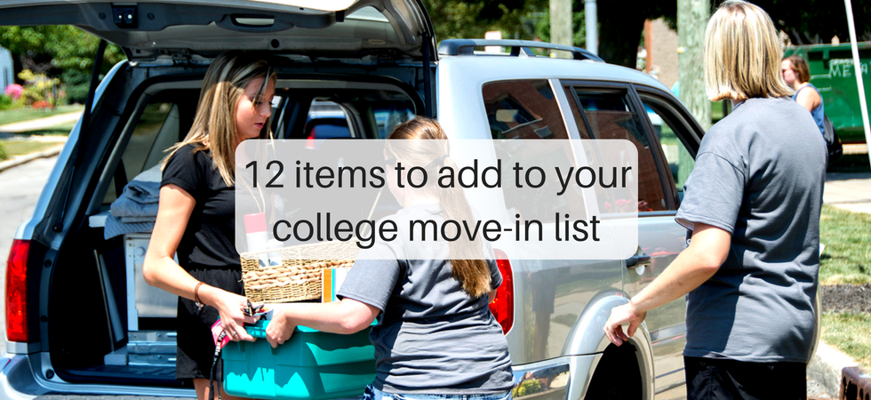 12 items to add to your college move-in list | JLV College Counseling Blog