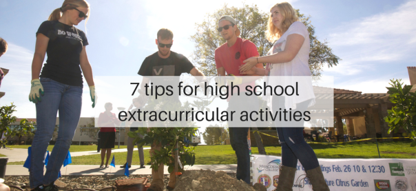 7 tips for high school extracurricular activities | JLV College Counseling Blog
