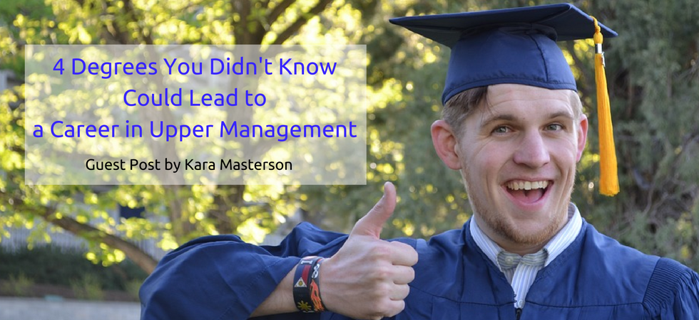4 Degrees You Didn't Know Could Lead to a Career in Upper Management   JLV College Counseling Blog