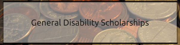 General Disability Scholarships | JLV College Counseling