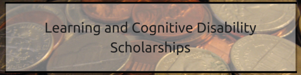 Learning and Cognitive Disability Scholarships | JLV College Counseling