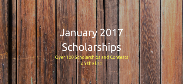 January 2017 Scholarships | JLV College Counseling Blog