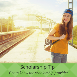 Scholarship Tip - Get to know the scholarship provider | JLV College Counseling Blog
