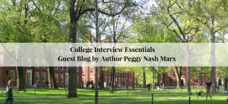 Guest Blog by Peggy Nash Marx - Author of College Interview Essentials | JLV College Counseling Blog