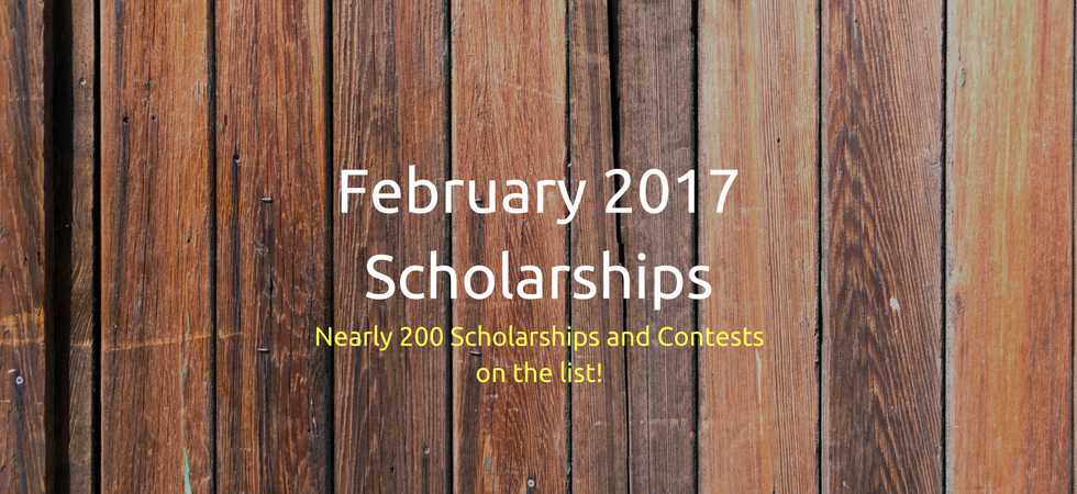 February 2017 Scholarships | JLV College Counseling Blog