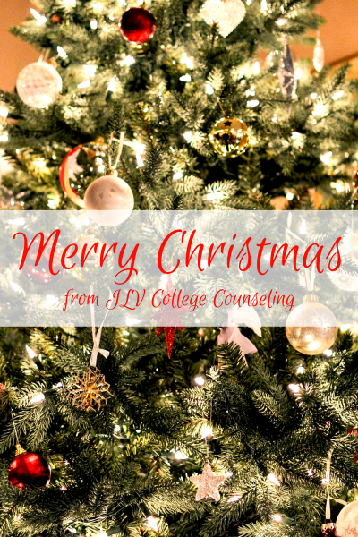 Merry Christmas | JLV College Counseling
