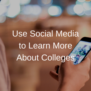 Use Social Media to Learn More About Colleges | JLV College Counseling Blog