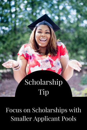 Focus on Scholarships with Smaller Applicant Pools | JLV College Counseling Blog
